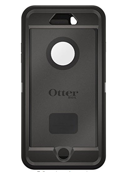 Black Otterbox Defender iPhone 6 plus case iPhone 6s plus case Rugged  Protection Belt Clip | Obumex