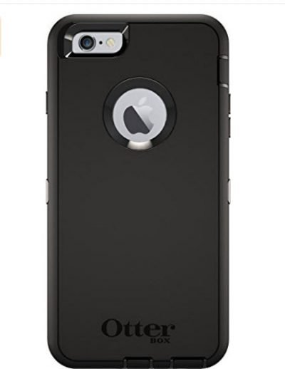 Black Otterbox Defender iPhone 6 Case iPhone 6s Case Rugged Protection with Belt Clip