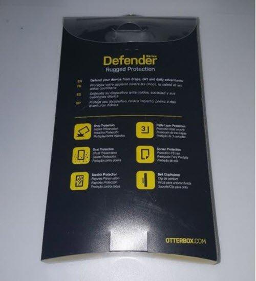 meet 32210 78b55 Black Otterbox Defender iPhone 6 plus case iPhone 6s plus case Rugged  Protection Belt Clip | Obumex