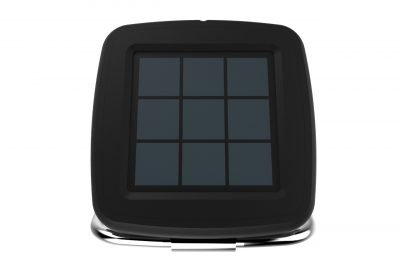 Black YM868 Solar Powered Portable Wireless Waterproof Bluetooth Speaker for Outdoor with 6 Hour Playtime