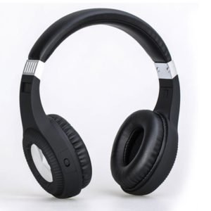 BTH105 Bluetooth Headphones with Big Volume Rotary Control knob Built in microphone for smartphone ipad laptop