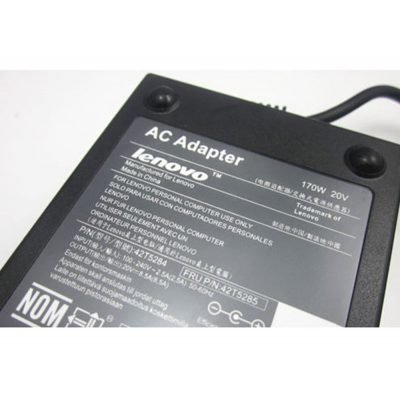 Genuine Lenovo ThinkPad 170W AC Adapter Slim Tip (USB type) for Thinkpad W540 Series - image onlenovo170wb4-1-400x395 on http://obumex.com