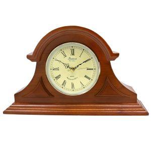 Bedford Mantel Clock - Mahogany Cherry Mantel Clock with Chimes