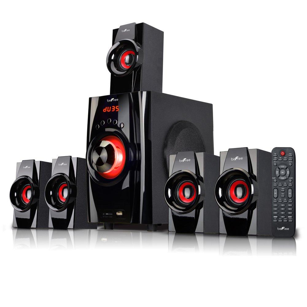 befree sound 5 1 channel surround sound bluetooth speaker. Black Bedroom Furniture Sets. Home Design Ideas