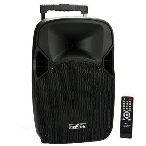 beFree Sound 12 Portable Bluetooth Speaker with USB/TF/FM Radio700W