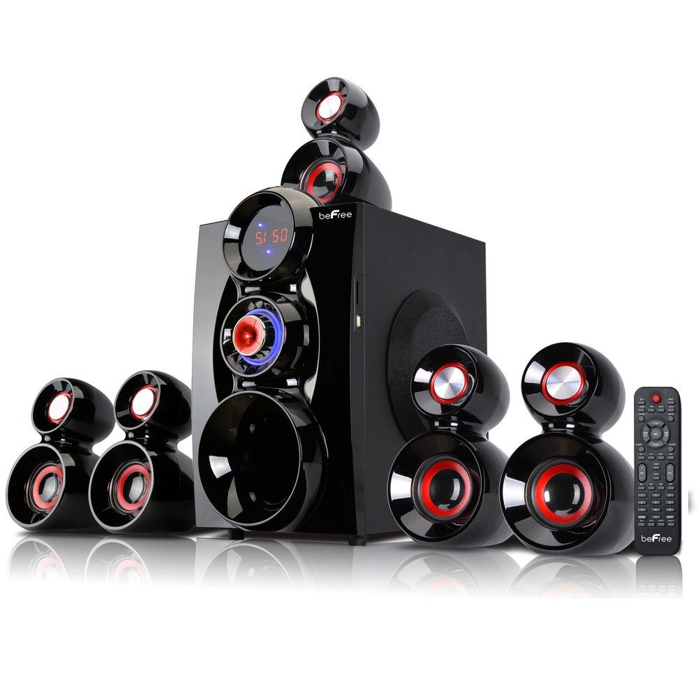 Befree Sound 5 1 Channel Surround Sound Bluetooth Speaker