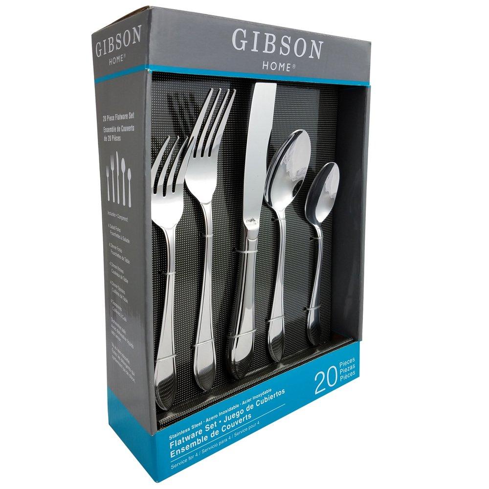 Gibson Herington 20 Piece Flatware Set