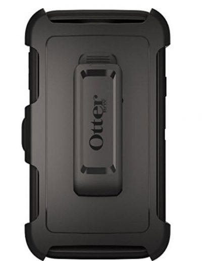 New Black Samsung Galaxy S5 Case - Otterbox Defender Rugged Protective Case with Belt Clip