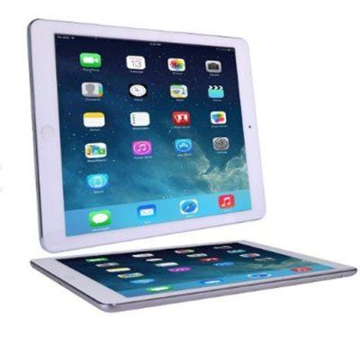 Apple iPad Air 32GB With WiFi Retina Display - Silver & White - image onipadair105-open1-400x393 on http://obumex.com