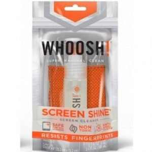 New WHOOSH! Tech Hygiene Screen Shine - Cleaner & Microfiber Cloth Included